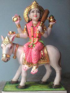 Marble Sheetla Mata Statue