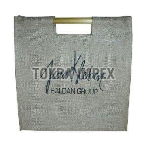 Bamboo Handle Promotional Jute Bag