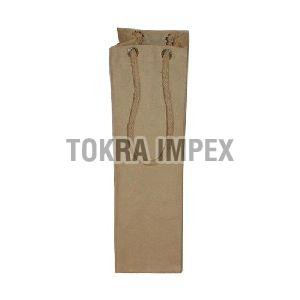 Canvas Bottle Bag With Cotton Rope Handle