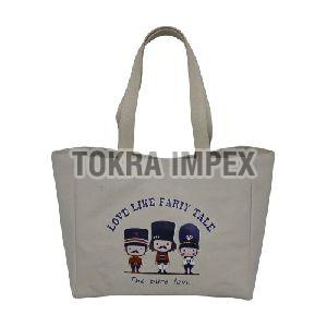 Canvas Eva Padded Tote Bag
