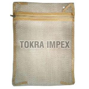 Polyester Mesh Zipper Laundry Bag