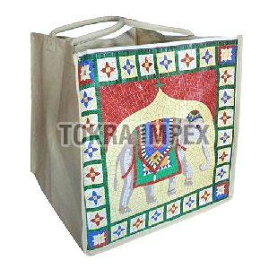 PP Laminated Cotton Canvas Laundry Bag