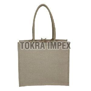 PP Laminated Juco Tote Bag with Padded Rope Handle