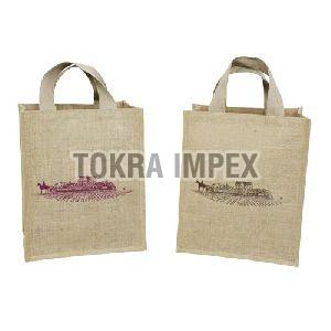 PP Laminated Jute Bag With Cotton Web Handle