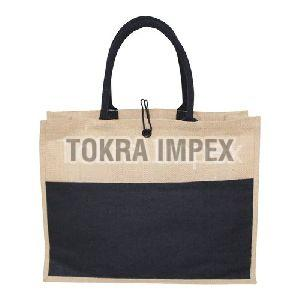 PP Laminated Jute Bag With Front Juco Pocket