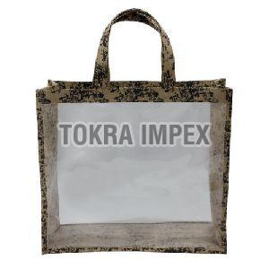 PP Laminated Jute Window Bag