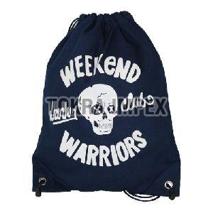 Sublimation Print Dyed Canvas Drawstring Backpack