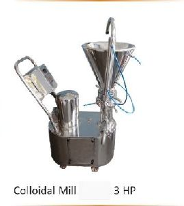 3 HP Stainless Steel Colloidal Mill
