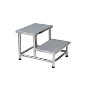 Stainless Steel 2 Step Stool