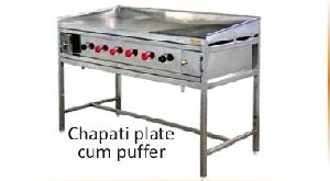 Stainless Steel Chapati Puffer Plate