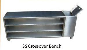 Stainless Steel Crossover Bench