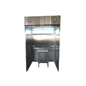 Stainless Steel Dispensing Booth