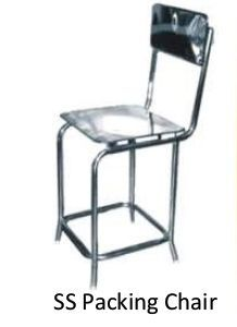 Stainless Steel Packing Chair