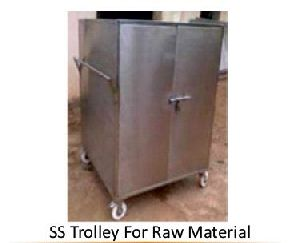 Stainless Steel Raw Material Trolley