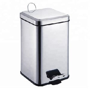 Stainless Steel Square Dustbin
