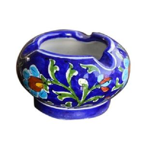 Jaipuri Blue Pottery Ashtray