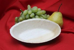 Areca Leaf Oval Bowl