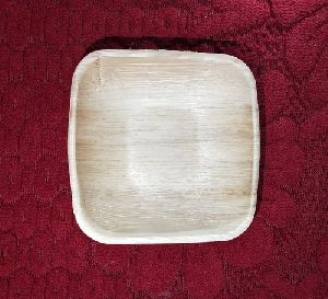 Areca Leaf Square Bowl