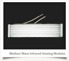 Medium Wave Infrared Module Heater