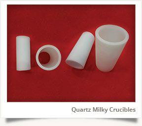 Quartz Milky Crucible