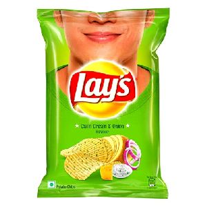 Lays Calm Cream & Onion Flavour Potato Chips
