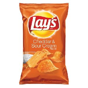 Lays Cheddar & Sour Cream Potato Chips