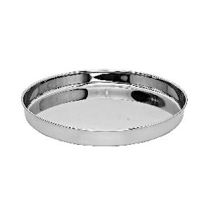 Stainless Steel Beeded Thali