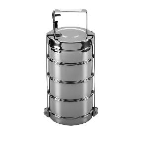 Stainless Steel Bombay Tiffin without Plate
