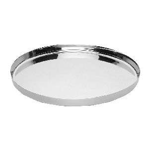 Stainless Steel Chapati Thali