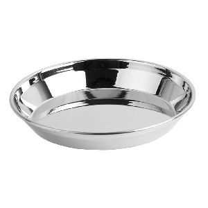 Stainless Steel Kanchan Halwa Plate