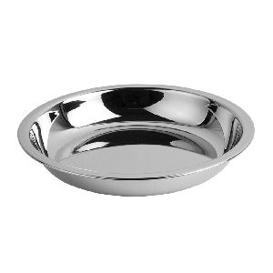 Stainless Steel Patti Halwa Plate