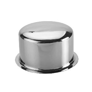 Stainless Steel Plain Bottom Round Tope