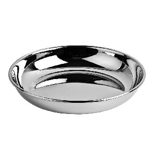 Stainless Steel R.B. Halwa Plate