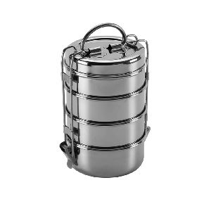 Stainless Steel Wire Tiffin with Plate