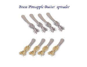 Brass Pineapple Butter Spreader