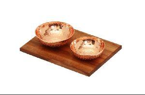 Copper Bowl Set