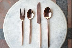 Copper Cutlery Set