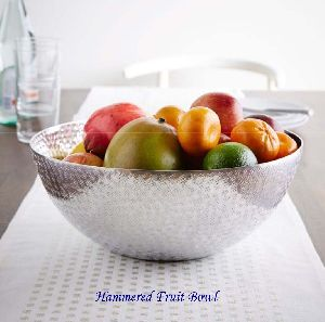 Hammered Fruit Bowl