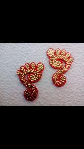 Gold Leaf Laxmi Charn