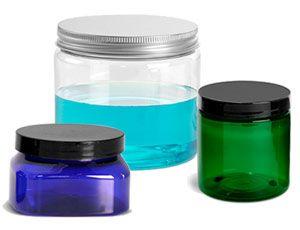 Colored PET Jar