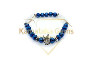 Blue Hematite Bracelet