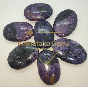 Charoite Palm Stone