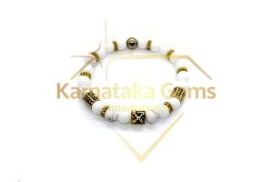 Howlite Charm Bracelet