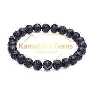 Lava Black Bracelet