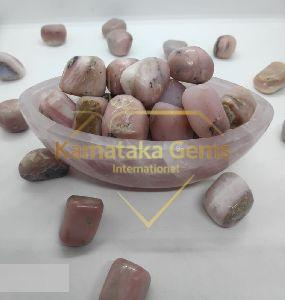 Pink Opal Tumbled Stones