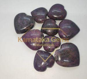 Ruby Stone Heart