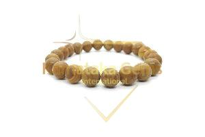 Wood Agate Bracelet