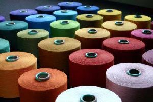 100% Spun Polyester Yarn (RW & Dyed / Mixed Blends)