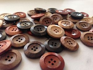 Imm Wood and Coconut Buttons
