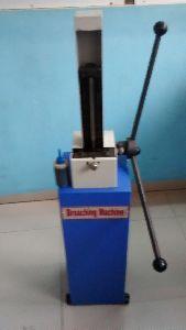 Motorized V-Notch Broaching Machine